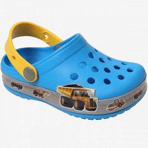 Пляжная обувь голубой