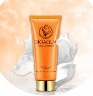 Пенка для умывания интенсивное увлажнение Bioaqua Horseoil Cleanser