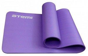 Коврик для йоги и фитнеса Atemi, 183x61x1,0 см
