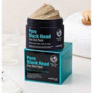 Маска для очищения пор и черных точек MEDITIME PORE BLACK HEAD ONE SHOT PACK (120G) EXP 2023/11/09