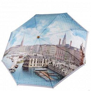 Зонт облегченный, 350гр, автомат, 102см, Fabretti L-20101-1