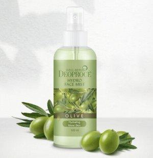 Увлажняющий и освежающий мист с экстрактом оливы WELL-BEING Face Mist Olive