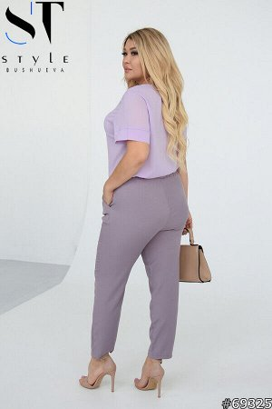 Костюм 69325 (блузка+брюки)