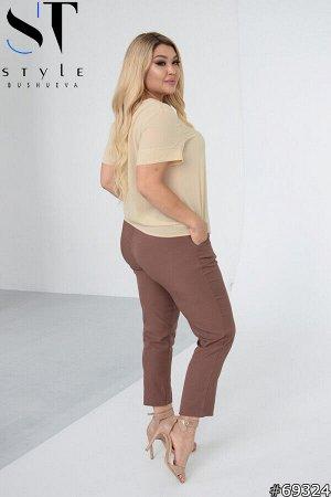 Костюм 69324 (блузка+брюки)
