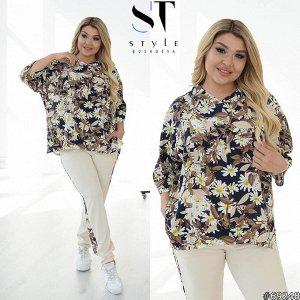 Костюм 69248 (блузка+брюки)