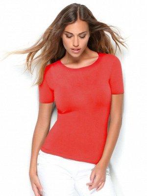 Женская футболка с коротким рукавом из мягкой микрофибры