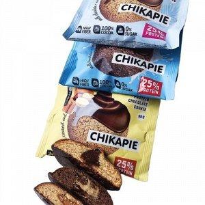 Пищевая добавка BombBar CHIKALAB Печенье глазированное с начинкой 60г 1шт