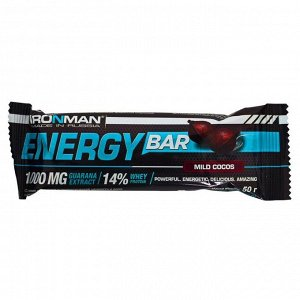 "IRONMAN Батончик ""Energy Bar"" c гуараной 50г  1шт"