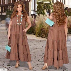 Платье Ткань штапель Длина 133-135 см