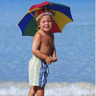 Бандалетки. В ожидании жарких дней — Зонт на голову