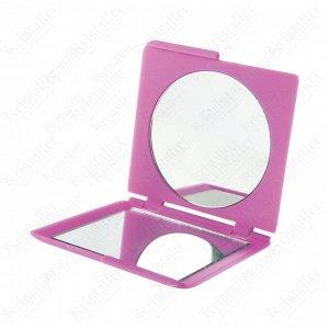 Зеркало карманное квадратное «Индиго», Dewal Beauty DBIN2616