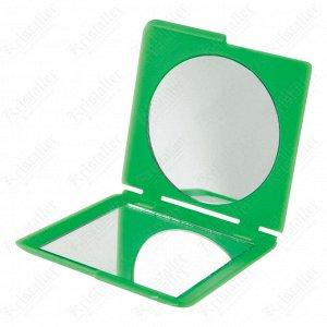 Зеркало карманное квадратное «Комфорт», Dewal Beauty DBK2616