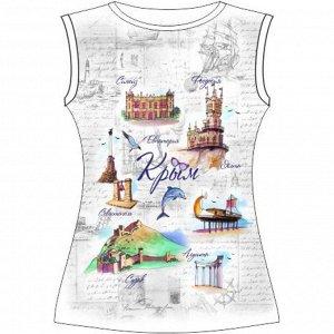 Женская футболка больших размеров Открытка