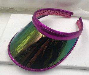 Козырек Прозрачный пластиковый аксессуар в нескольких цветах - большой выбор для самых капризных модниц! берите сразу несколько под каждый образ и Вы будете в центре внимания на всех пляжных вечеринка