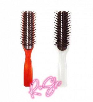 Расческа-Щетка для укладки волос маслом камелии