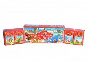 """Набор """"Чай со сладостями""""  большая Красная коробка"""
