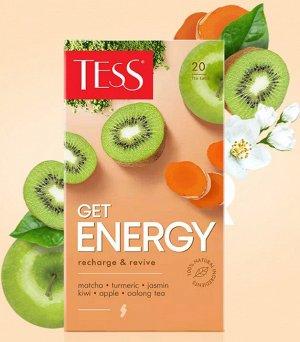 Чай Тесс Get ENERGY tea 20 пакетиков