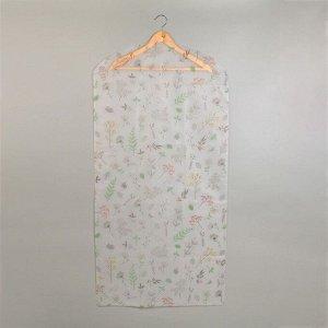 Чехол для одежды «Весна», 60×120 см, PEVA