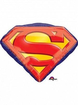 "Фольга шар Супермен эмблема Р38 20""/51 см Anagram"