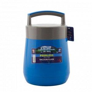 Термос Термос стекл 1,2л А509 Объем, л./размер, см: 1.2 л Материал: нержавеющая сталь Торговая марка: Mimi Тип упаковки: полиэтиленовый пакет Крышка: герметичная широкое горло Варианты цветов: синий,