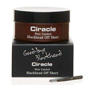 Салфетки для удаления черных точек Ciracle Pore Control Blackhead Off Sheet, 40 шт