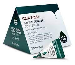 Farm Stay Cica Farm Baking Powder 7гр*25 шт Скраб для лица с центеллой и содой в пирамидках