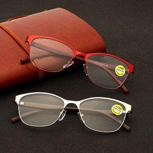 Очки для зрения красная оправа