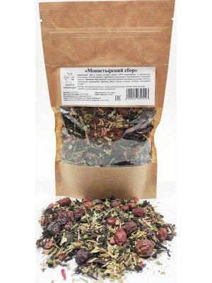 Чай Монастырский чай (сбор трав и ягод) 100гр