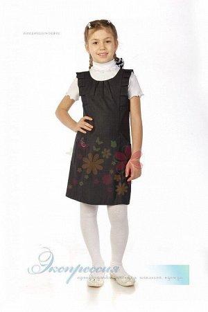 Школьный сарафан для девочки 204-12