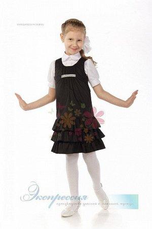 Школьный сарафан для девочки 228-13