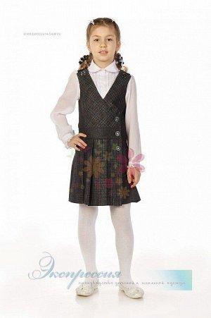 Школьный сарафан для девочки 232-13