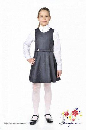 Школьный сарафан для девочки 274-17