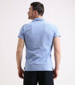Топ Индиго меланж Состав: 92% Cotton, 8% Elastane Поло мужское (термо Лого с иглами). Материал: Cotton - материал из натуральных волокон, который удобен в носке, быстро впитывает и отводит от тела вла