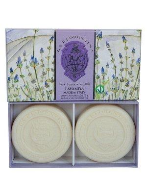 LA FLORENTINA Мыло 242620 Lavender 2x115 г. NEW