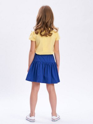 Юбка Количество в упаковке: 1; Артикул: WIN-WKG11047; Цвет: Синий; Ткань: Хлопок; Состав: 100% Хлопок; Цвет: Синий Пышная многослойная юбка для девочки из натурального 100% хлопка. Идеальна на ка