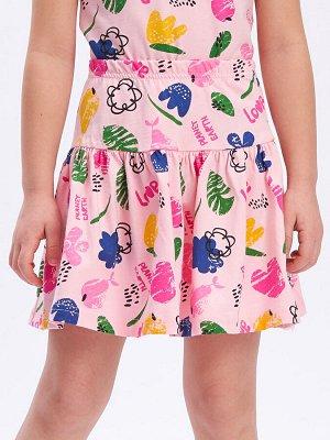 Юбка Количество в упаковке: 1; Артикул: WIN-WKG11047/2; Цвет: Светло-розовый; Ткань: Хлопок; Состав: 100% Хлопок; Цвет: Розовый | Светло-розовый Пышная многослойная юбка для девочки из натурального 1