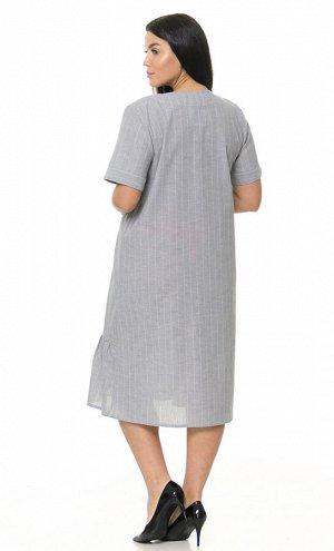 Туника Количество в упаковке: 1; Артикул: ДРЯ-Т-2442; Цвет: Серый; Ткань: Благородный лён; Состав: 5% Хлопок, 95% Лён; Цвет: Серый Скачать таблицу размеров