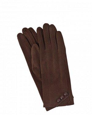 Перчатки женские коричневые