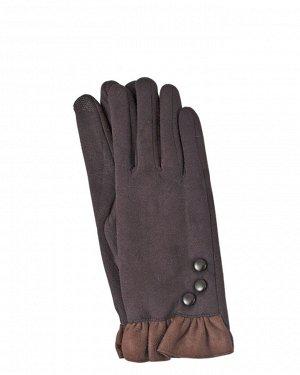 Перчатки женские коричневые ЛО-231