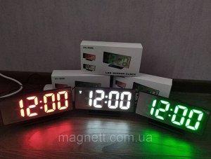 Часы светодиодные зеркальные