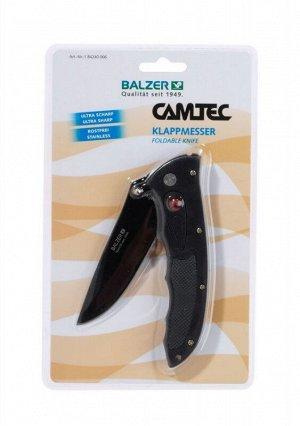 Нож складной универсальный Balzer Camtec Klappmesser 06 (10/22см, нержавейка)