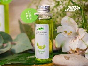 Съедобный лубрикант-массажное масло Triple Juleju