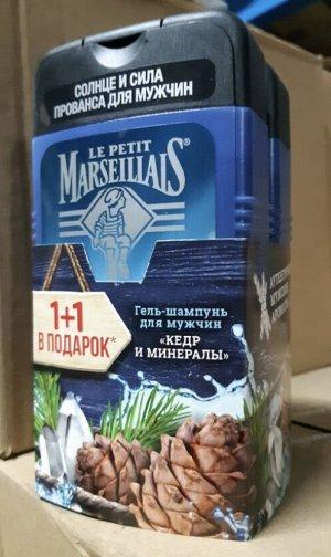 1+1 Гель-шампунь д/мужчин Кедр и минералы /250