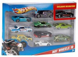 """Набор из 10 машинок """"Hot Wheels"""""""