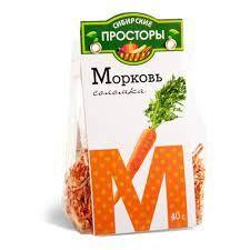Сушеная Морковь соломка Сибирские Просторы