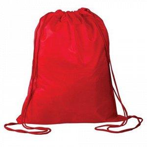 Сумка для обуви, для учеников начальной школы ТОП-СПИН 43*35см красная