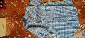 Рубашка швейная для мальчиков