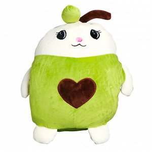"Мягкая игрушка-подушка ""Зайчик-авокадо"" / 35 см"