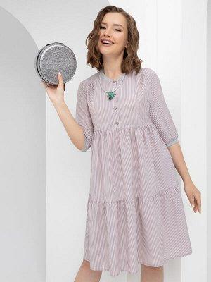 Платье Вдохновленная мечтой (розовая дымка)