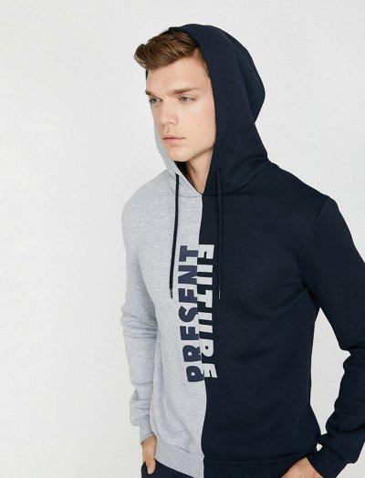 Джинсы, футболки, платья Koton — Мужские свитеры, пуловеры, толстовки